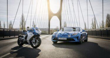 Θες ασορτί μοτοσυκλέτα και αυτοκίνητο; Δες τι έκανε η Alpine με την ΜV Agusta (video)