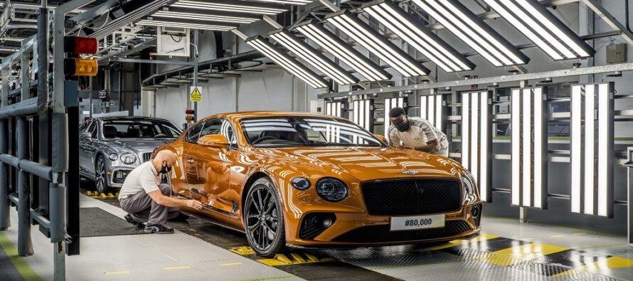 Πόσες Bentley Continental GT έχετε δει από τις 80.000 που κυκλοφορούν;