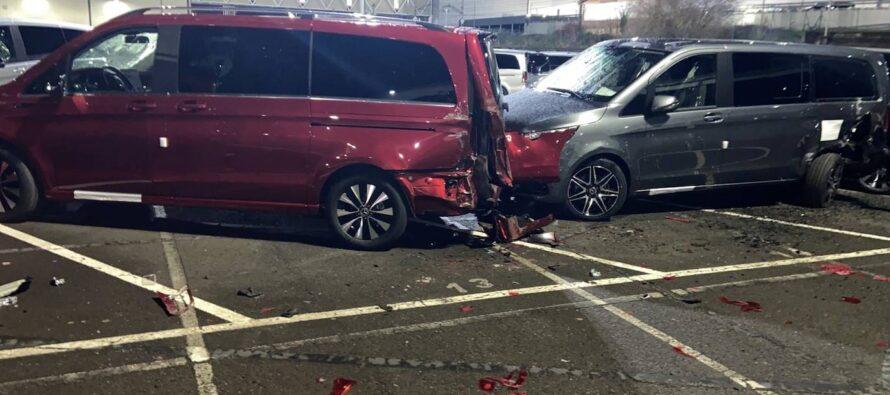Η Mercedes τον απέλυσε και εκδικήθηκε καταστρέφοντας δεκάδες οχήματα