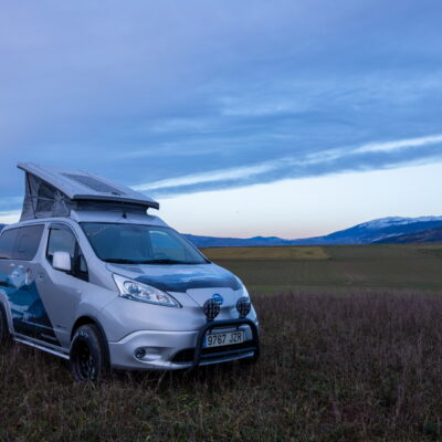 Nissan e-NV200 Winter Camper (1)