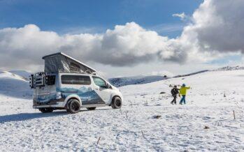 Κλειστά τα χιονοδρομικά κέντρα; Η λύση είναι το Nissan e-NV200 (video)