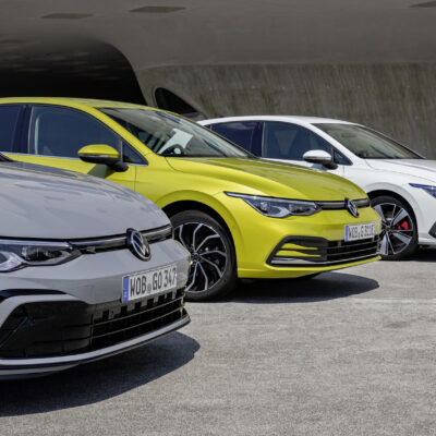 The new Volkswagen Golf 1.5 eTSI, Golf eHybrid and Golf GTE