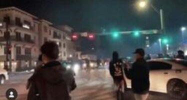 Γκρέμισε κολόνα φωτισμού με την καρότσα του! (video)