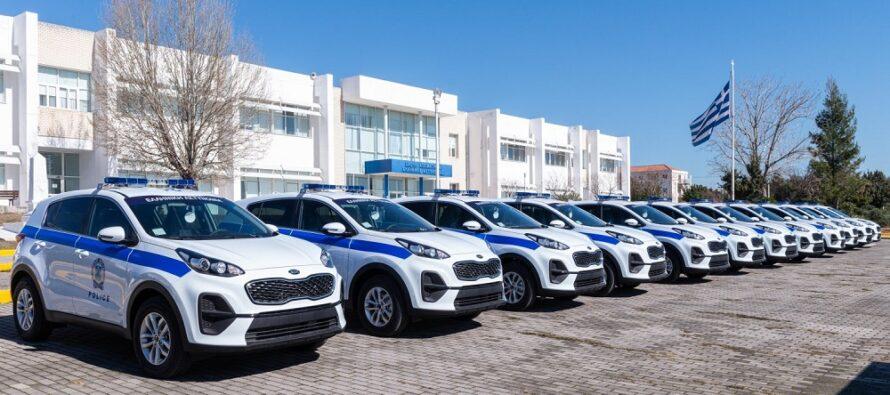 Με 45 νέα οχήματα ενισχύθηκε ο στόλος της Ελληνικής Αστυνομίας