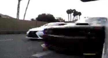 Η τρομακτική στιγμή οπίσθιας πρόσκρουσης σε Tesla (video)