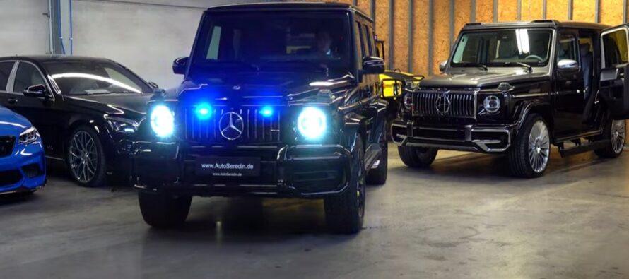 Βόμβες και σφαίρες δε διαπερνούν τη θωρακισμένη Mercedes-AMG G63 (video)