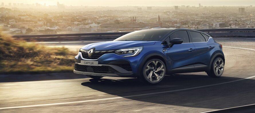 Mε R.S. αμφίεση το Renault Captur
