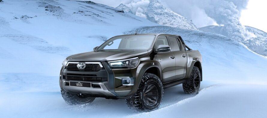Αυτό το βελτιωμένο Toyota Hilux δεν είναι για το χωράφι