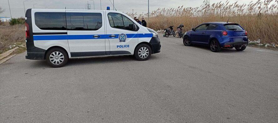 Μπλόκα της Τροχαίας στη Θεσσαλονίκη για κόντρες