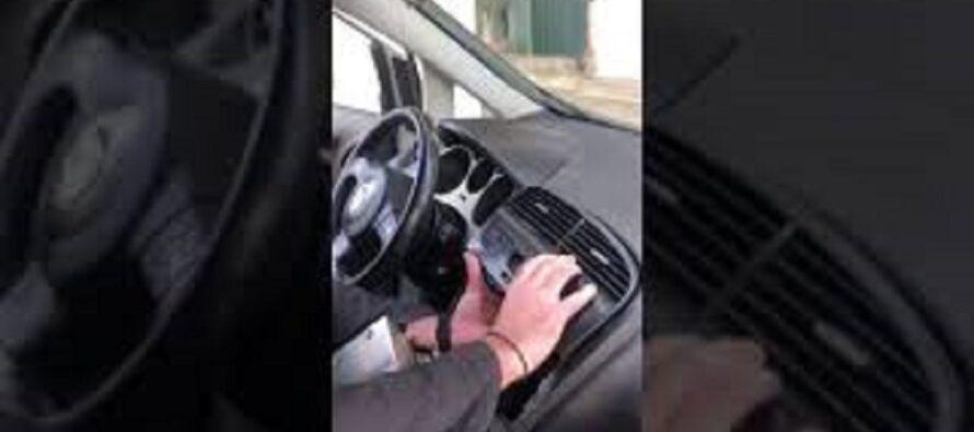 Έκρυψαν 1.156 γραμμάρια κοκαΐνης στο ταμπλό του αυτοκινήτου (video)