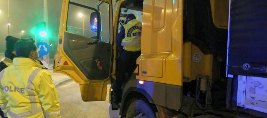 Πού εντοπίστηκαν το 2020 συνολικά 72 φορτηγά με «πειραγμένο» ταχογράφο;