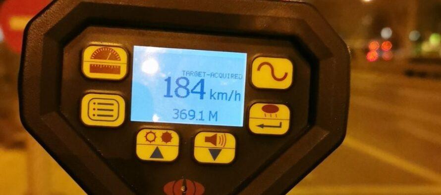 Αττική: Εντοπίστηκαν 124 παραβάσεις ορίου ταχύτητας σε τρεις μόνο μέρες