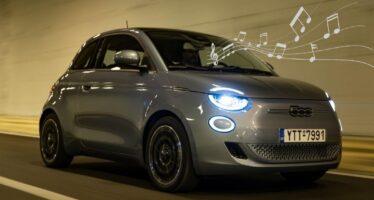 Ελληνικά τραγούδια παίζει για τους πεζούς το Fiat 500e! (video)