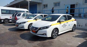 Πρόσληψη στο Δήμο Θεσσαλονίκης για δυο ηλεκτρικά Nissan Leaf