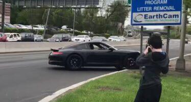 Ακόμα ένα τρακάρισμα με Porsche που έπεσε σε λάθος χέρια (video)