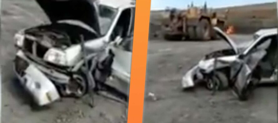 Ελέφαντας πάτησε αυτό το Suzuki Vitara; (video)