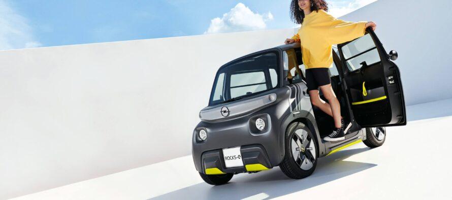 Από 15 ετών μπορείς να οδηγείς νόμιμα το νέο Opel Rocks-e!