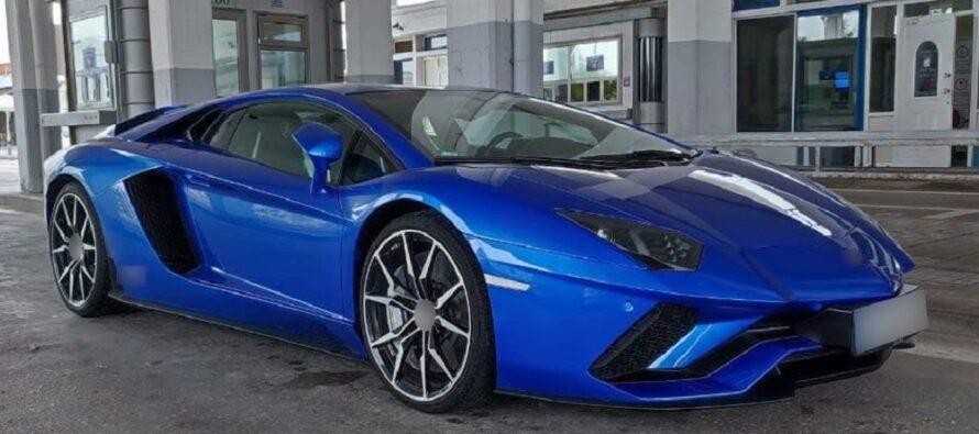 Με κλεμμένη Lamborghini προσπάθησαν να περάσουν τα σύνορα στον Έβρο