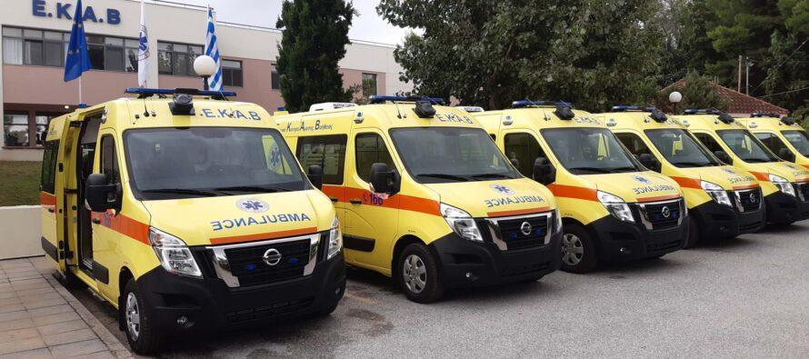 Πιο αισιόδοξοι πλέον όταν καλούμε το 166! Το ΕΚΑΒ απέκτησε 25 νέα ασθενοφόρα