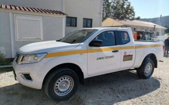 «Διορίστηκε» στο Δήμο Πωγωνίου το Nissan Navara